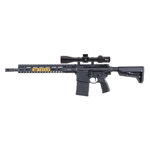 "Sig Sauer, 716 TREAD, Semi-automatic, 308 Winchester/ 762NATO, 16"" Barrel, Black, Collapsible Stock, M-Lok Handguard, 4.5-14X44mm SIERAA3 BDX Rifle Scope, 20Rd, 1 Magazine"
