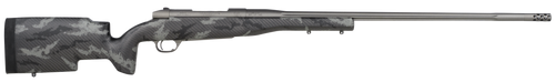 "Weatherby Mark V Accumark Pro 30-378 Weatherby Mag,  26"" Carbon Fiber,  Gray Sponge Patterns, Gray Cerakote, Left Hand, 3rd"