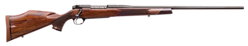 """Weatherby Mark V Deluxe 6.5 Weatherby RPM, 24"""" Barrel, Blued, Gloss Walnut Monte Carlo Stock, 4rd"""