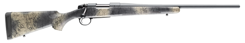 "Bergara Wilderness Hunter 300 Winchester Magnum, 24"" Barrel, Sniper Gray Cerakote, Wilderness Synthetic Stock, 3Rd, Hinged Floor Plate"