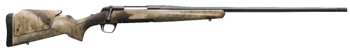 """Browning X-Bolt Western Hunter 300 PRC,  26"""" A-TACS AU Camo Fixed Adjustable Comb Stock Matte Blued Right Hand,  3 rd"""