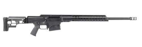"Barrett MRAD 338 Lapua Mag 26"" Fluted 10+1 Black Cerakote Black Folding Right Side Stock Black Polymer Grip"