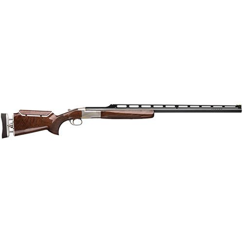 "Browning BT-99 Max High Grade 12 Ga 34"" 1 2.75"" Silver Nitride Gloss Oil Black Walnut Fixed Graco Pro Fit Adjustable Buttplate&Comb Stock Right Hand"