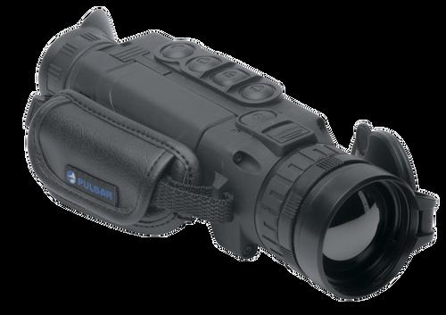 Pulsar Helion 2 XP50, Thermal Monocular, 2.5-20X50 (2.5X Optical, 1-8X Digital), Matte Finish, Black Color, Rechargable Lithium Ion Battery