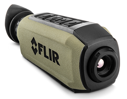 FLIR Scion OTM 366 Monocular 1.3-10.4x 18x13 Degrees FOV Black/OD Green