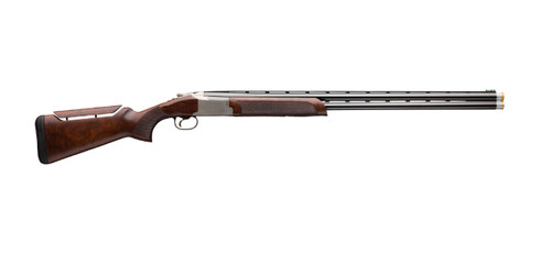 """Browning Citori 725 Sporting 12 Ga 32"""" 2 3"""" Silver Nitride Gloss Oil Black Walnut Fixed Adjustable Comb Stock Right Hand (Non-Ported)"""