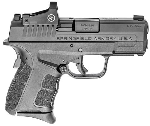 "Springfield Hellcat OSP (Optical Sight Pistol) Sub-Compact, 9mm, 3.3"" Barrel, 1-7Rd, 1-9Rd Mags"