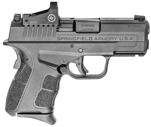 """Springfield XDS MOD2 OSP (Optical Sight Pistol) Sub-Compact, 9mm, 3.3"""" Barrel, 1-7Rd, 1-9Rd Mags"""