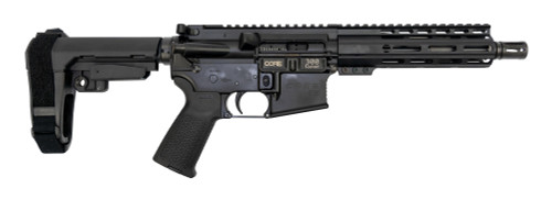 "Core 15 Truck Gun AR-15 Pistol .300 Blackout, 7.5"" Barrel, SBA3, Black, 30rd"