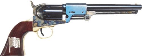 """Cimarron Leech & Rigdon CSA 36 Black Powder, 7 1/2"""" Black Powder, CSA Battle Flag Inlay"""