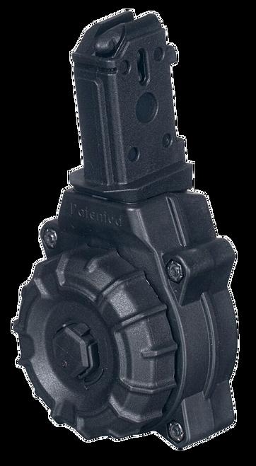 ProMag CZ 9mm Scorpion Drum Mag, 30rd, Black