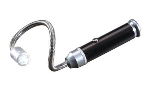 Real Avid/Revo Magnetic Bore Light LR44 (3) Aluminum Black/Silver