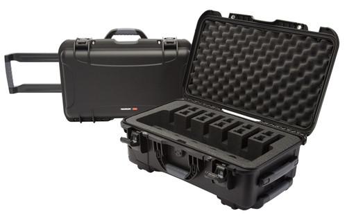 NANUK (PLASTICASE INC) 935 6 Up Pistol Case with Foam Black Polyethylene