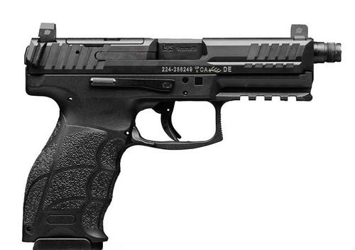 "HK VP9 Tactical Optics Ready 9mm, 4.7"" TB, Night Sights, Black, 17rd"