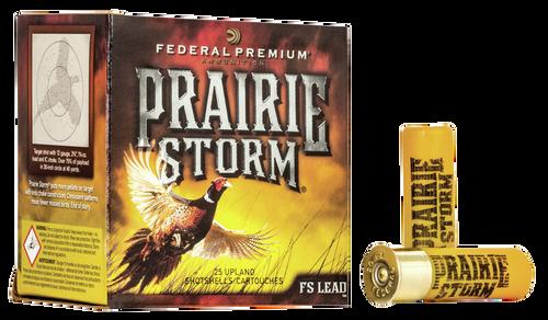 """Federal Prairie Storm 16 Ga, 2.75"""", 1 1/8oz, 5 Shot, 25rd Box"""