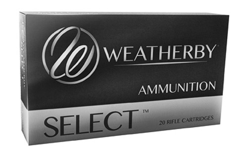 Weatherby Select 7mm Weatherby Magnum 154gr, Hornady InterLock, 20rd Box