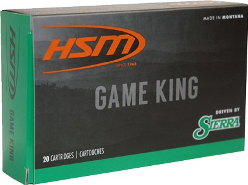 HSM 300 Weatherby Magnum 150gr, SBT Game King Hunting, 20rd Box