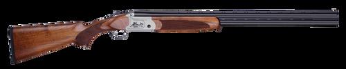 "ATI Crusader Sport 410 Ga, 26"" Barrel, 2.75"", Silver Engraved, Oiled Turkish Walnut, 2rd"