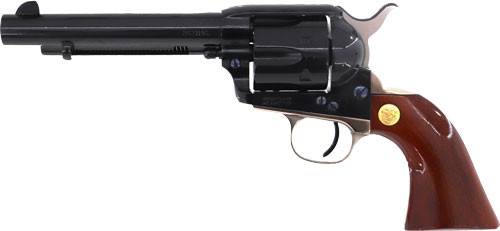 "Cimarron Pistoleer 357/38  5.5"" Barrel Blued Finish Walnut Grip"