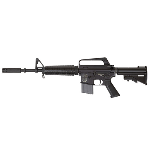 "Colt GAU-5/A/A RETRO CARBINE, Semi-automatic, AR, 223 Rem/556NATO, 16.1"" Barrel, A1 Sight, Original Aluminum Die Cast Stock with Vinyl Acetate Coating, US Property Marked Rollmarks, Black, 1:12 Twist, 20Rd USGI Mag"