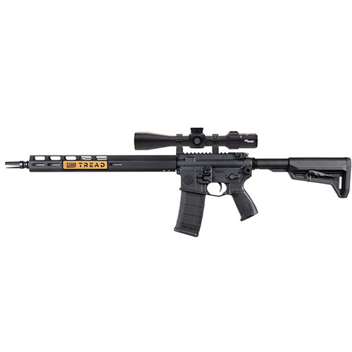 "Sig Sauer, M400 TREAD, Semi-automatic, 223 Rem, 556NATO, 16"" Stainless Barrel, Magpul SL-K Stock, M-Lok Handguard, Black, 3.5-10x42mm SIERRA 3 BDX Rifle Scope, 1 Mag, 30Rd"
