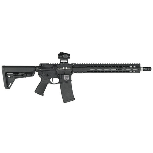 "Barrett REC7 DI Fighter AR-15 Package 223/556 16"" Barrel, Magpul Stock and Pistol Grip, Barrett Muzzle Brake, Geissele ALG Trigger, Vortex CF-RD1 Red Dot Sight"