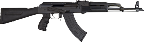 "Pioneer Arms AK-47 7.62x39mm 16.30"",  Black Sporter Stock,  30 rd"