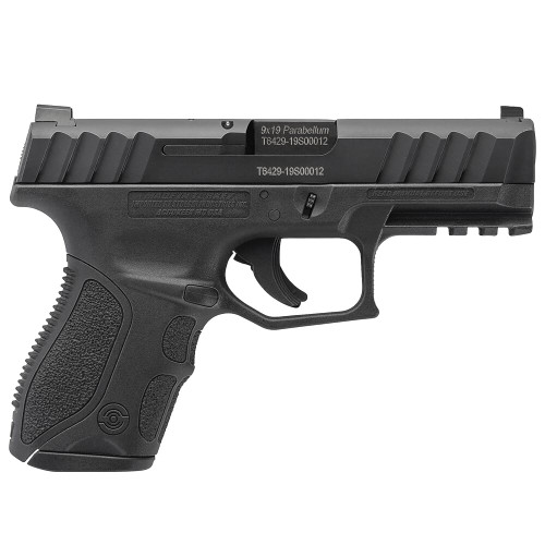 Stoeger STR-9C Compact 9mm Black Pistol w/3 13Rd Mags & 3 Backstraps