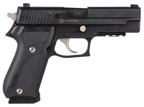 "Sig Sauer P220 .45 ACP 4.4"" Nightmare Black 1 Of 500 Nightmare Series X-Ray, Limited Edition"