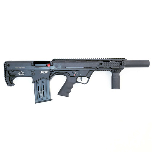 Black Aces Tactical Bullpup 12 Gauge, 18.5 Inch Barrel. 2 - 5 rnd Mags, Black Synthetic