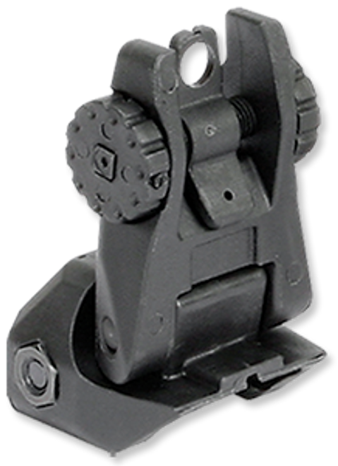 Rock River Arms NSP REAR FLIP UP SIGHT, BLACK