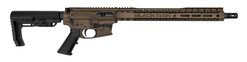 "Black Rain Ordnance PCC 9mm, 16"" Barrel, Rear Charging, Barrett Brown"