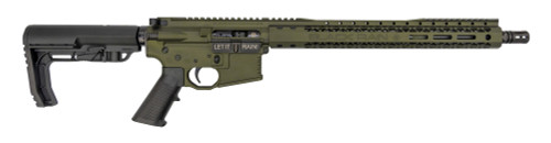 "Black Rain Ordnance AR-15 .223/5.56, 16"" Barrel, MFT Stock, OD Green, 30rd"