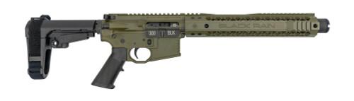 Black Rain Ordnance .300 Blackout Pistol, SBA3, OD Green