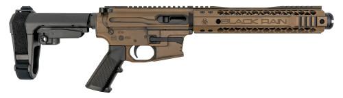 Black Rain Ordnance AR-9 Pistol 9mm, Rear Charging, SBA3, Barrett Brown