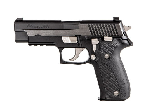 "Sig P226 Custom Works Equinox 9mm, 1 of 500, 4.4"" Barrel, XRay3, Two-Tone, 15rd"