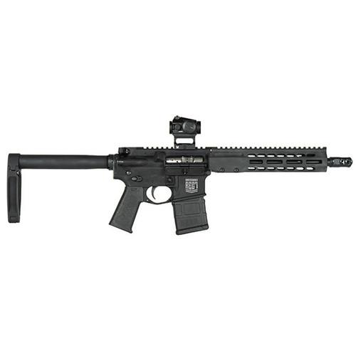 """Barrett REC7 DI Fighter 223 Rem/5.56mm, 10.25"""" Barrel, 1:7 Twist, Black Anodized, Gear Head Works Tailhook MOD 1 Pistol Brace, Magpul Grip, Brake, Geissele ALG Trigger, Vortex CF-RD1 Red Dot Sight"""