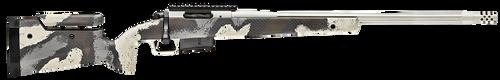"Springfield Model 2020 Waypoint 6.5 PRC, 24"" Fluted Stainless Barrel, SA Radial Brake, Tan, Desert Verde Cerakote, Ridgeline Camo Adj Carbon Fiber Stock M-LOK, TriggerTech Adj Trigger, AICS 3rd Mag"