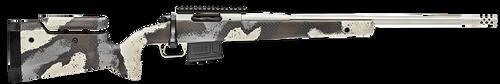 "Springfield Model 2020 Waypoint 6.5MM Creedmoor, 22"" Fluted Stainless Barrel, SA Radial Brake, Tan, Desert Verde Cerakote, Ridgeline Camo Adj Carbon Fiber Stock M-LOK, TriggerTech Adj Trigger, AICS 5rd Mag"