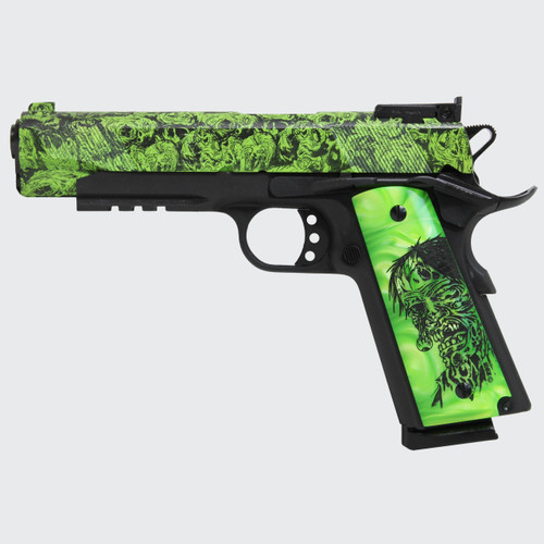 "Iver Johnson 1911A1 Eagle LR Zombie .45 ACP, 5"" Barrel, Black, 8rd"