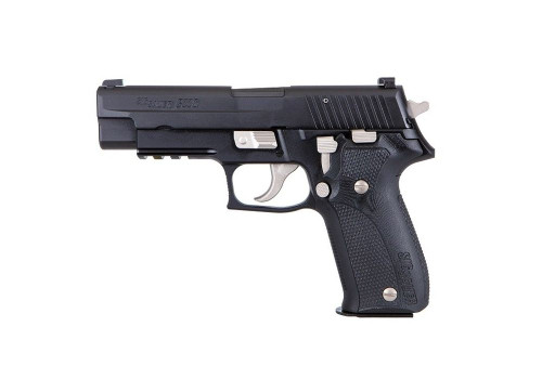 "Sig P226 Custom Works Nightmare 9mm, 1 of 500, 4.4"" Barrel, XRay3, Black, 15rd"