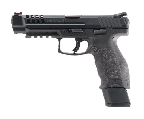 "HK VP9L Optics Ready 9mm, 5"" Barrel, Night Sights, Black, 20rd"