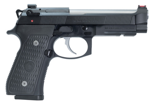 "Langdon Tactical 92 Elite LTT 9mm, 4.7"" Barrel, G10 Grips, Black, 15rd"