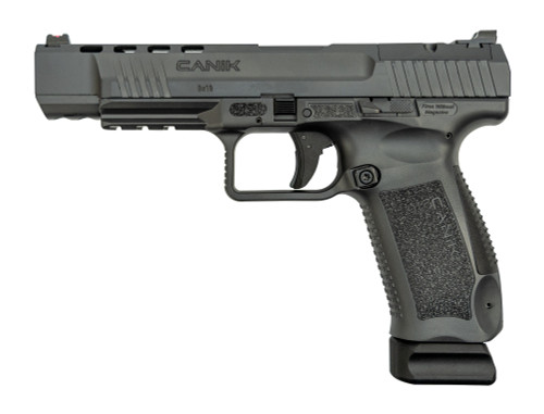 "Canik TP9SFX 9mm, 5.2"" Barrel, Warren Tactical Sights, Sniper Grey, 20rd"