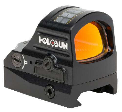 Holosun Technologies 507C-X2, Red Dot, 32 MOA Ring & 2 MOA Dot, Black Color, Side Battery, Solar Failsafe