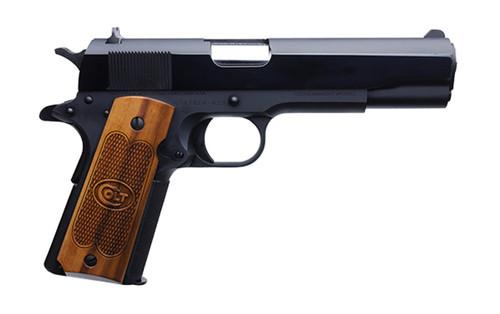 "Colt 1911 Government .45 ACP, 5"" Barrel, Fixed GI Sights, Blued, 7rd"