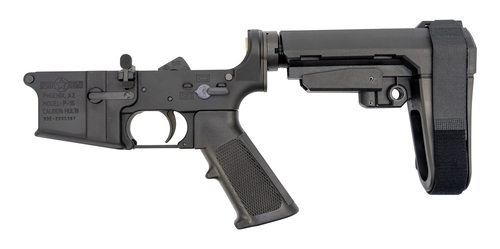 POF Gen4 P-15 Assembled Lower .223/5.56, POF Trigger, SBA3, Black