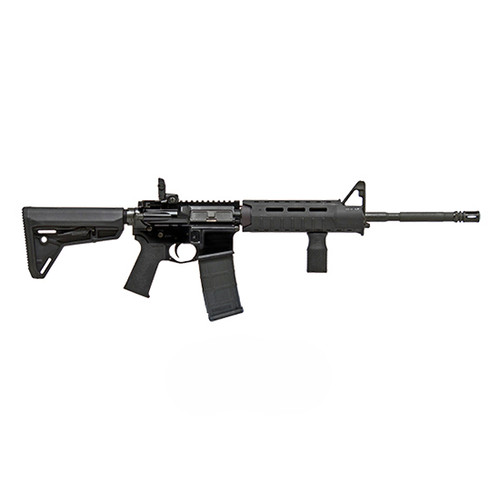 "Colt Carbine .223/5.56, 16"" Barrel, A2 Grip, A2 FS, Magpul MBUS RS, Black, 30rd"