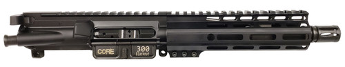"Core15 Truck Pistol Complete Upper .300 Blackout, 7.5"" Barrel, A2 Flash Hider, Black"