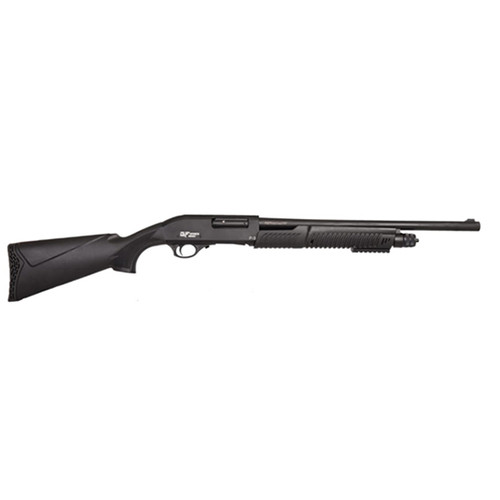 "Gforce GF3P Pump-Action 12 Ga, 20"" Barrel, 3"", Synthetic, Black, 4rd"